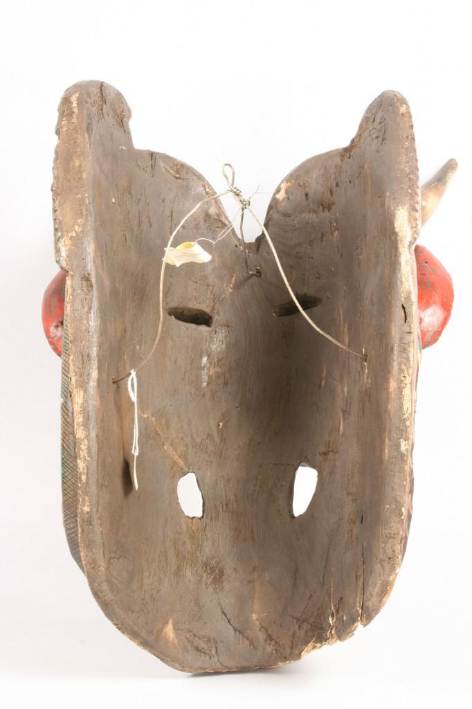 Lot 503: Mexican Folk Art Animal Mask