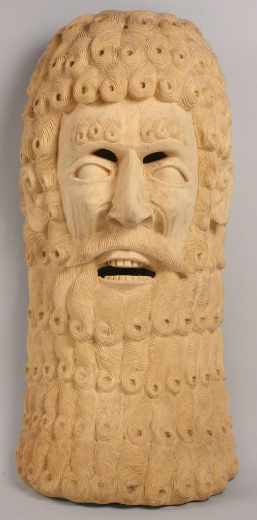 Lot 505: Mexican Folk Art Moor mask
