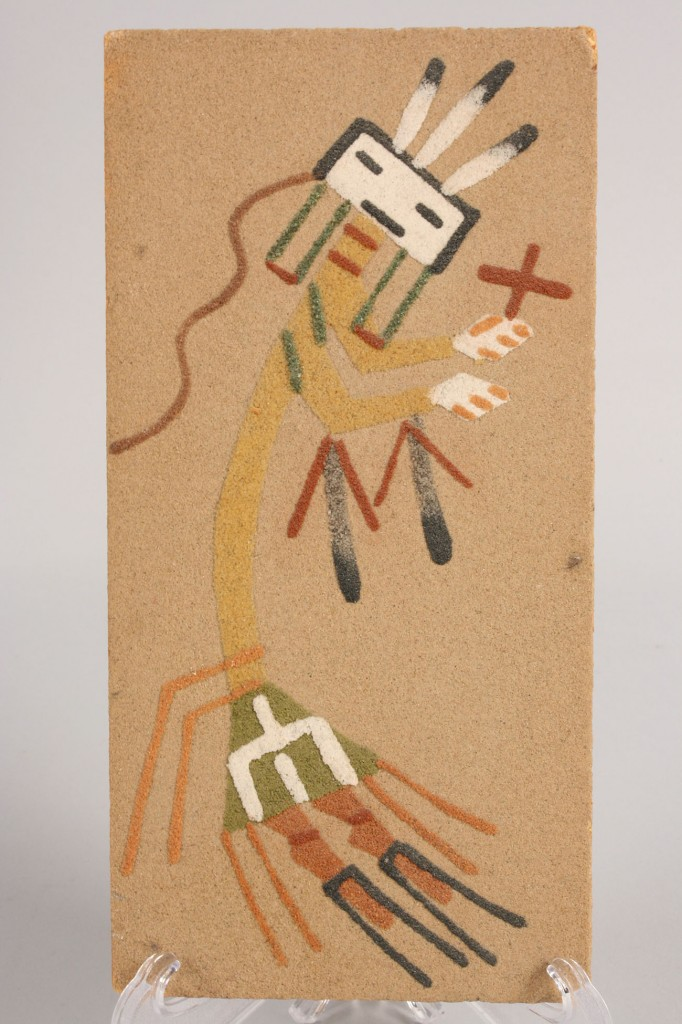 Lot 517: 3 Navajo Sand Paintings