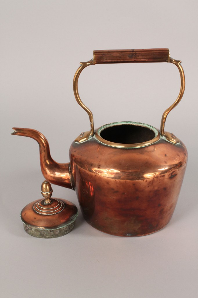 Lot 51: Group of Copper Kitchen antiques