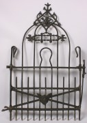 522: Knoxville TN marked iron garden gate