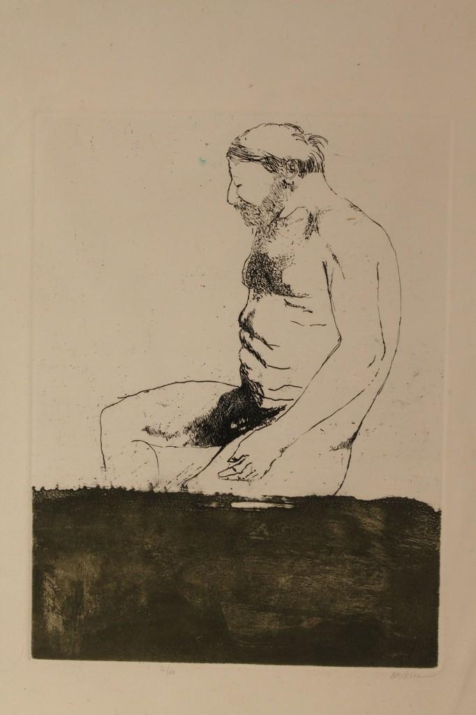 Lot 535: Lot of 4 prints : Baskin, Dyson, Pellegrini, Mead