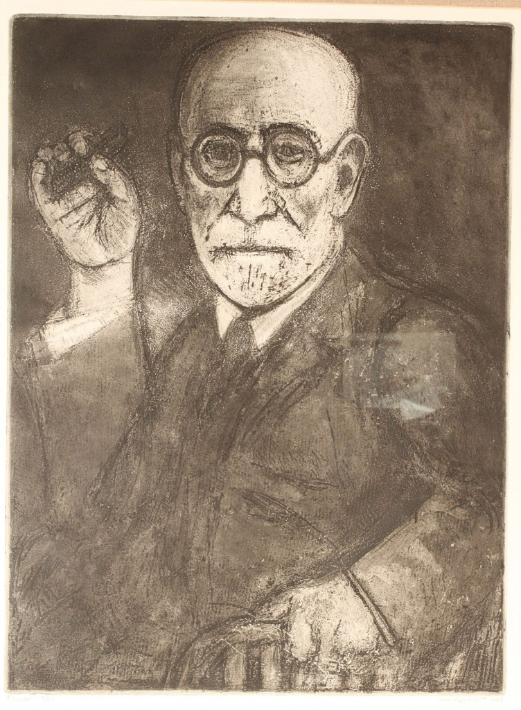 Lot 536: Lot of 6 etchings and lithos including Marx, Hamme