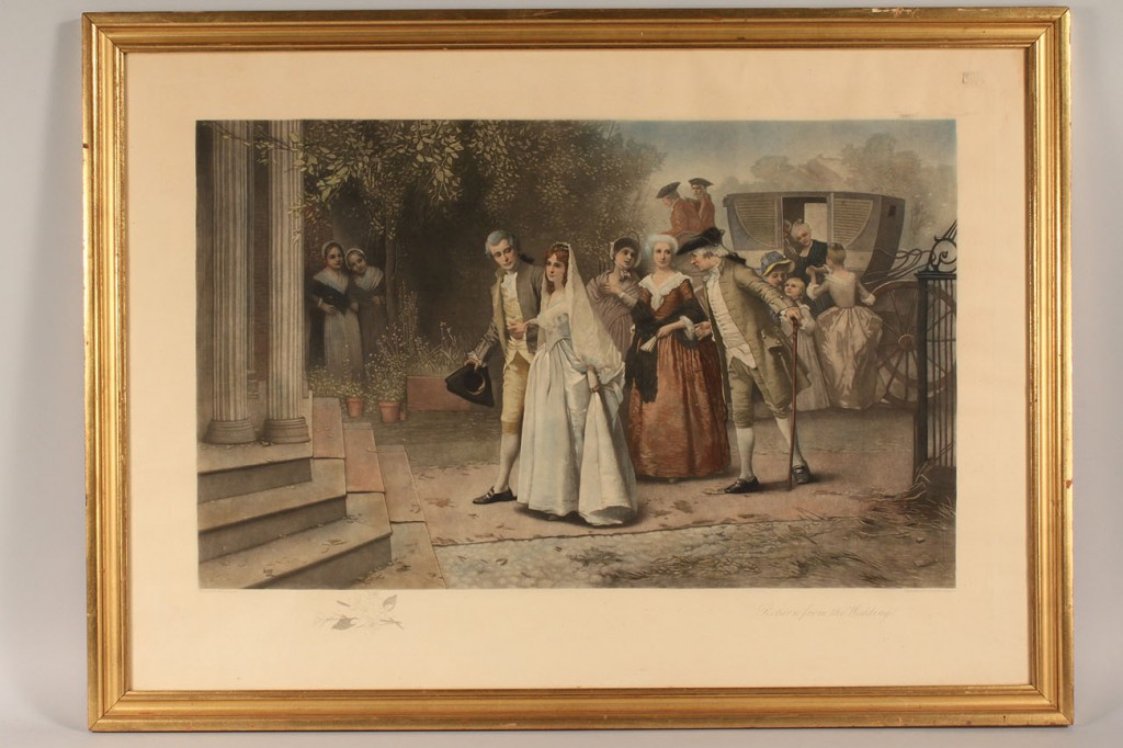 Lot 537: Three Victorian engravings