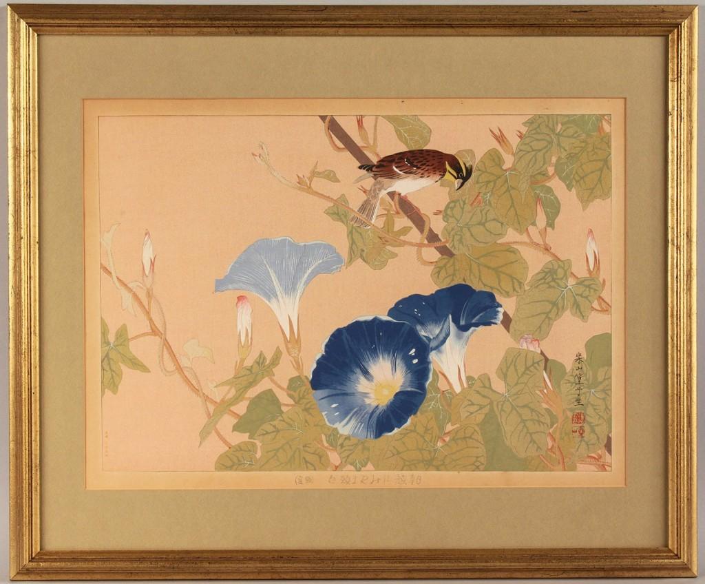 Lot 543: 3 Japanese Woodblock Prints, Tsuchiya Rakusan