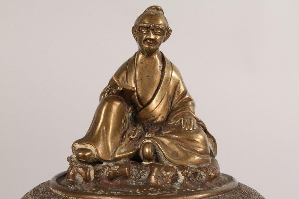 Lot 547: Asian Bronze Censer
