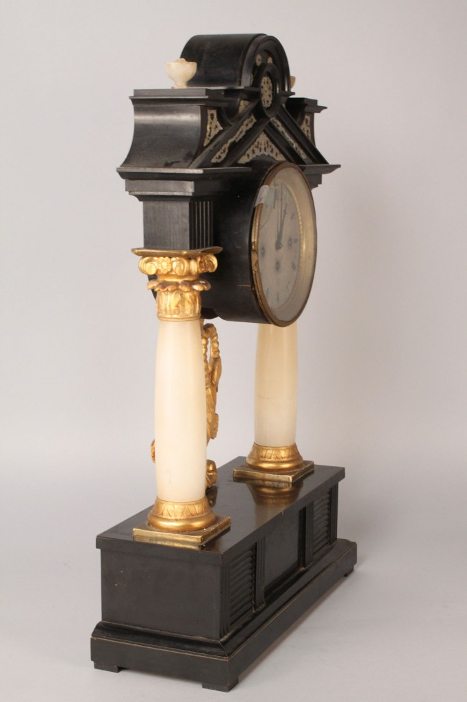 Lot 558: French Classical Music Clock