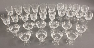 Lot 559: 30 pcs Waterford Crystal, Lismore Pattern
