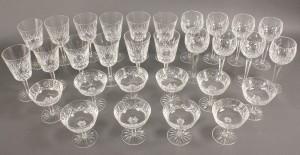 Lot 559: 30 pcs Waterford Crystal, Lismore Pattern