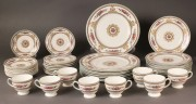 572: Wedgewood China, Columbia Pattern, Service for 8
