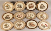 575: 12 Lenox Boehm collectors' plates: 4 wildlife & 8