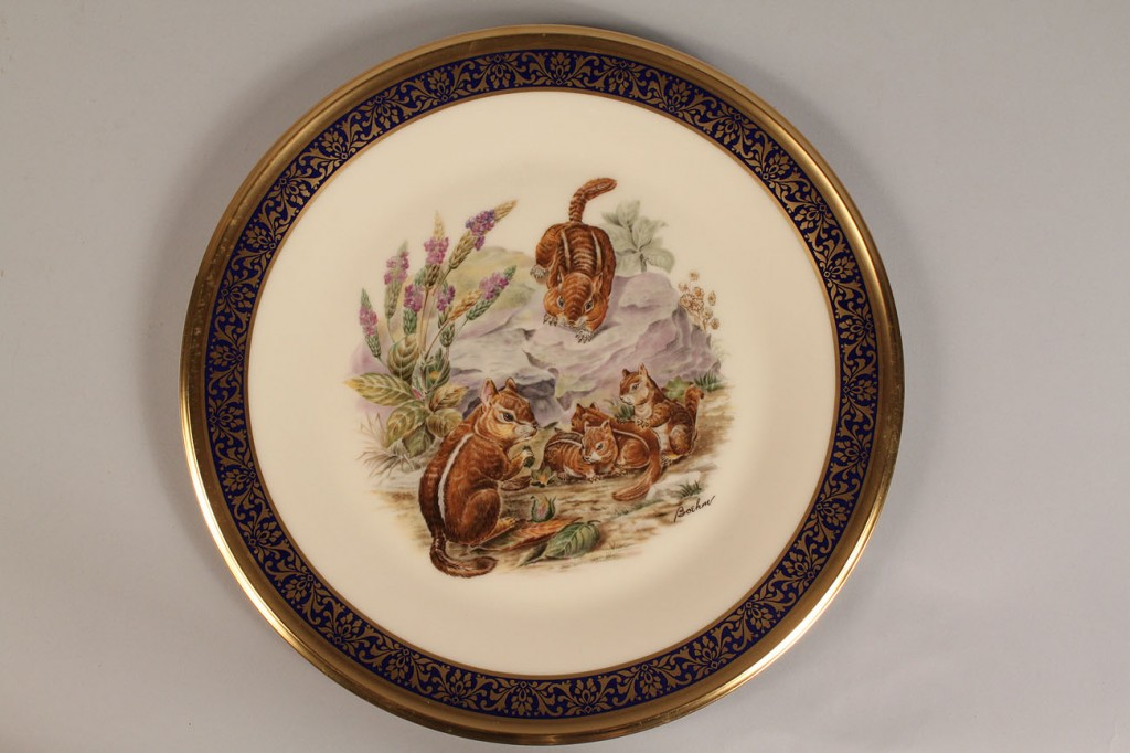Lot 575: 12 Lenox Boehm collectors' plates: 4 wildlife & 8