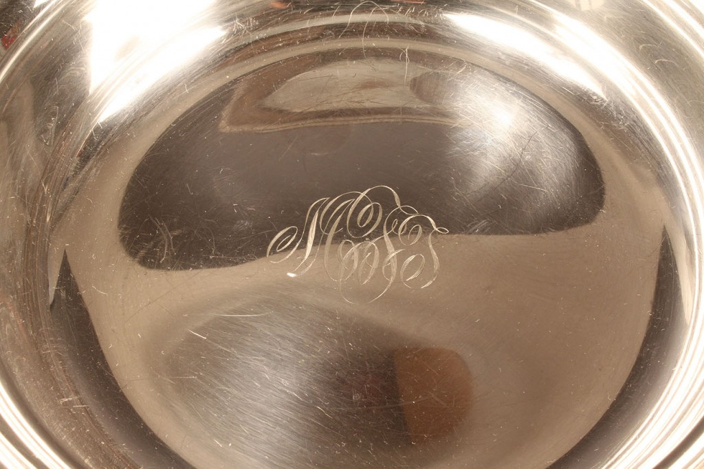 Lot 588: S. Kirk & Son Sterling Silver Bowl