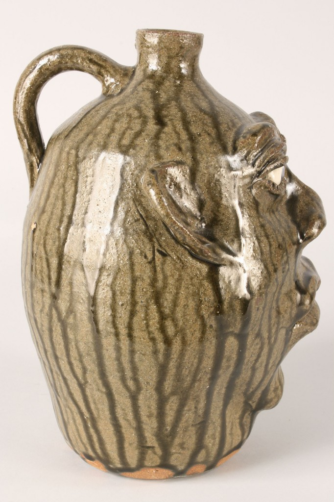 Lot 58: Cleater Meaders Face Jug