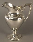 591: Gorham Sterling Silver water pitcher