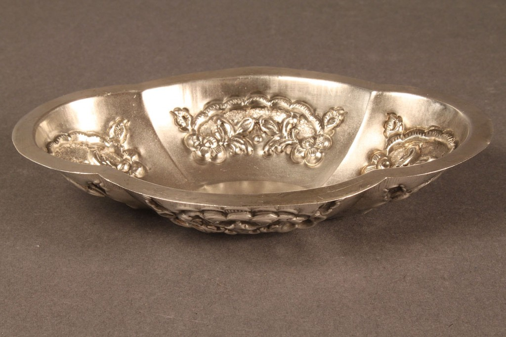 Lot 598: Lot of Three Middle Eastern Silver Items