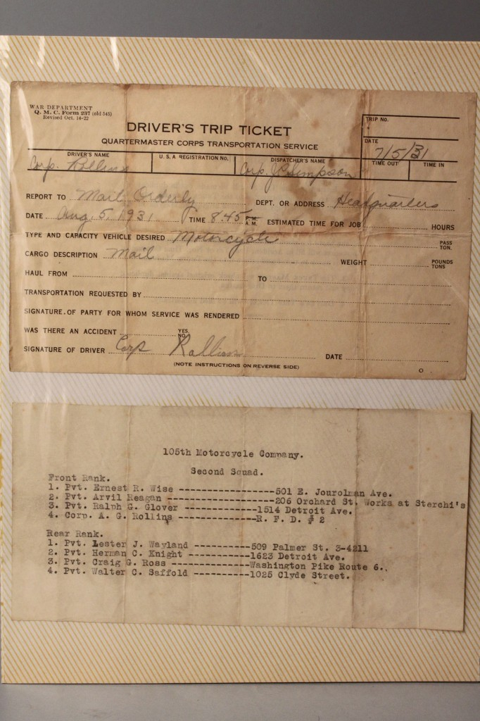 Lot 5: East TN-related Documents, Civil War Era