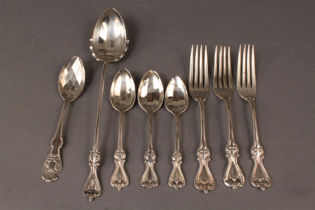 Lot 618: Flatware inc. Towle Old Colonial