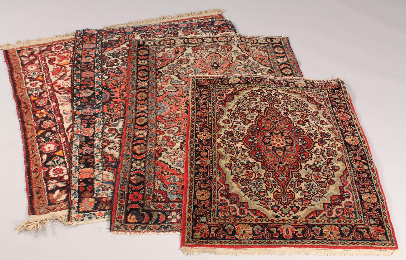Lot 640 Lot Of 4 Persian Rugs