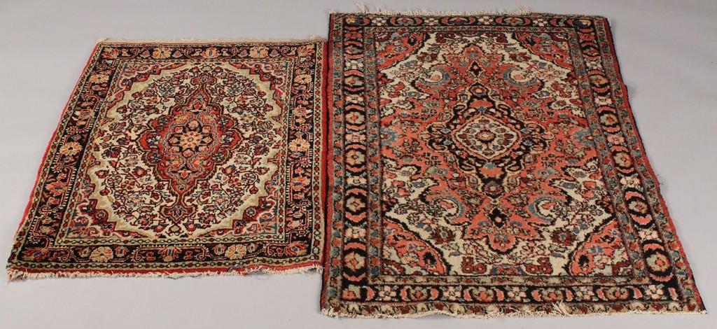 Lot 640: Lot of 4 Persian rugs