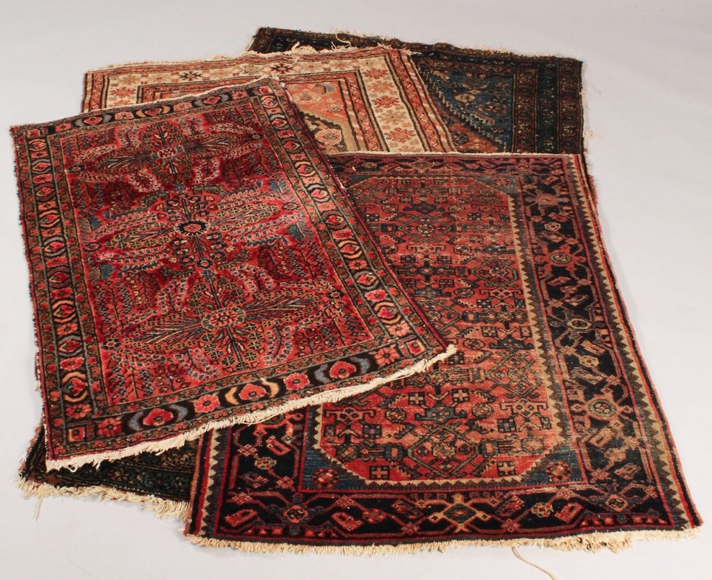 Lot 641: Lot of 4 Persian Rugs