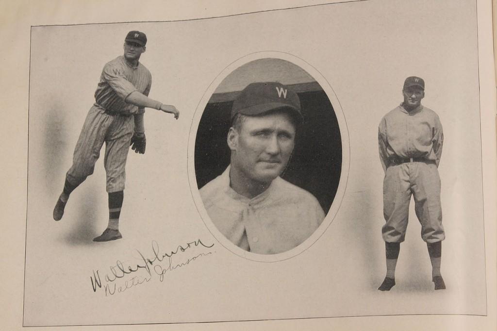 Lot 644: 1924 World Series Senators Scorecard, Signed