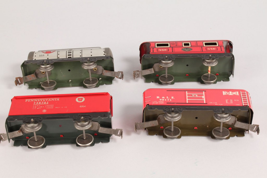 Lot 648: Boxed Louis Marx Train Set, boxed and mint conditi