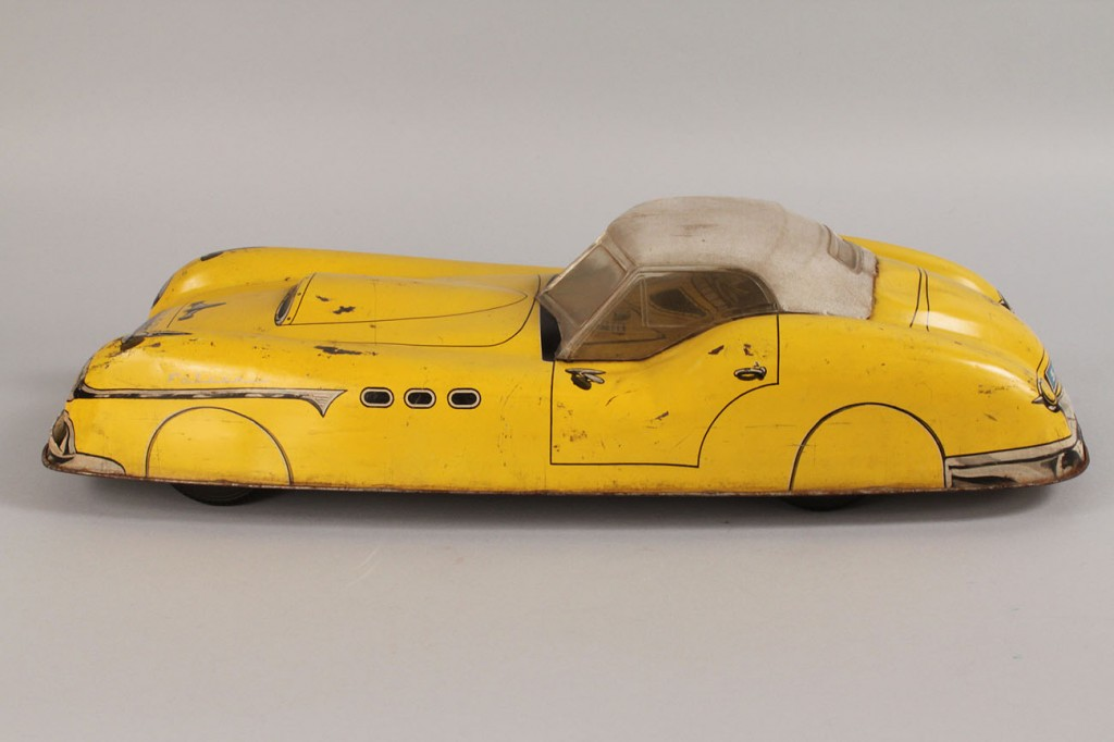 Lot 649: Falcon Tin Lithograph Car
