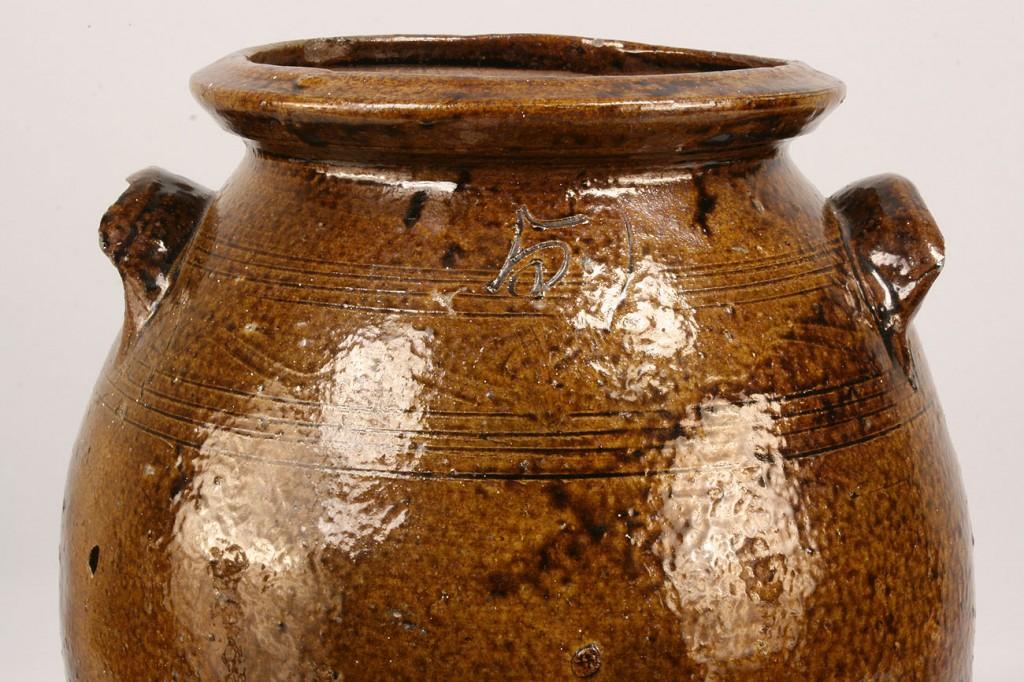 Lot 64: Alabama Pottery Jar