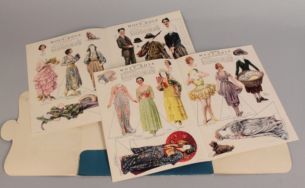 "Lot 650: Percy Reeves ""Movy-Dolls"" Paper Dolls Book"