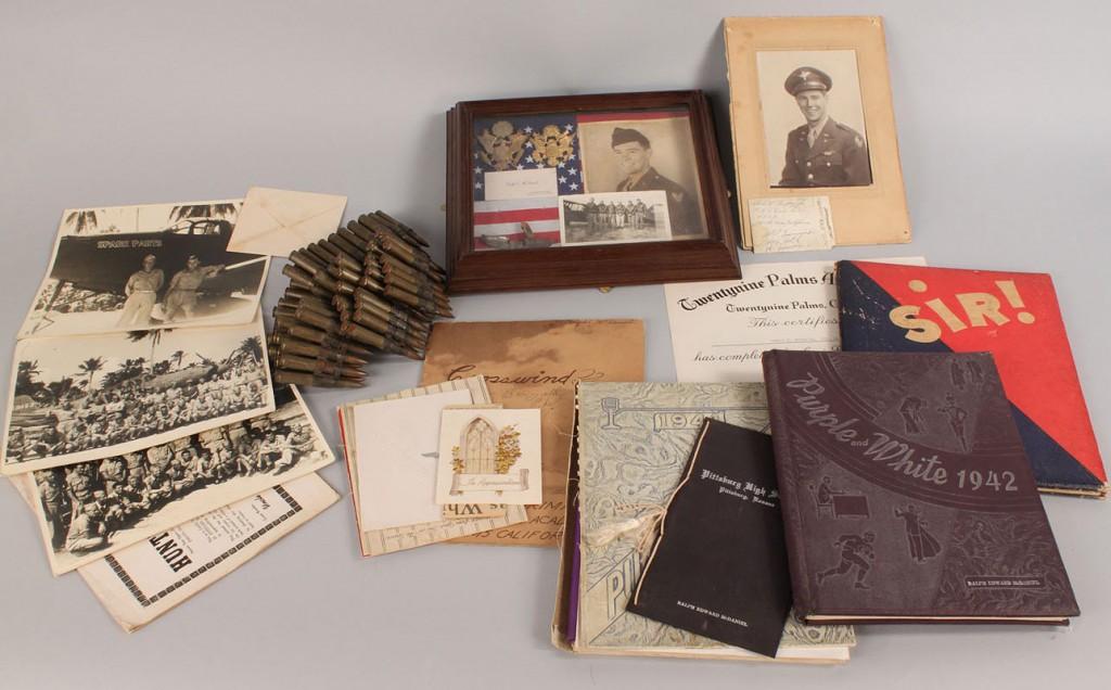 Lot 663: Ralph Edward McDaniel WWII Archive