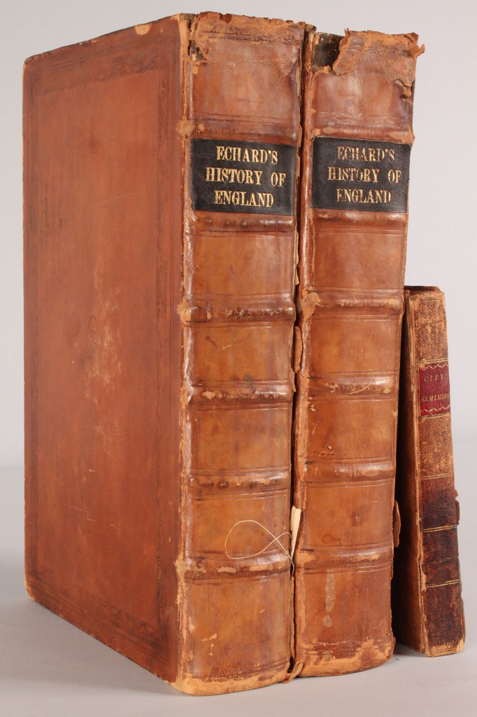 Lot 664: Lot of 3 Early English Books