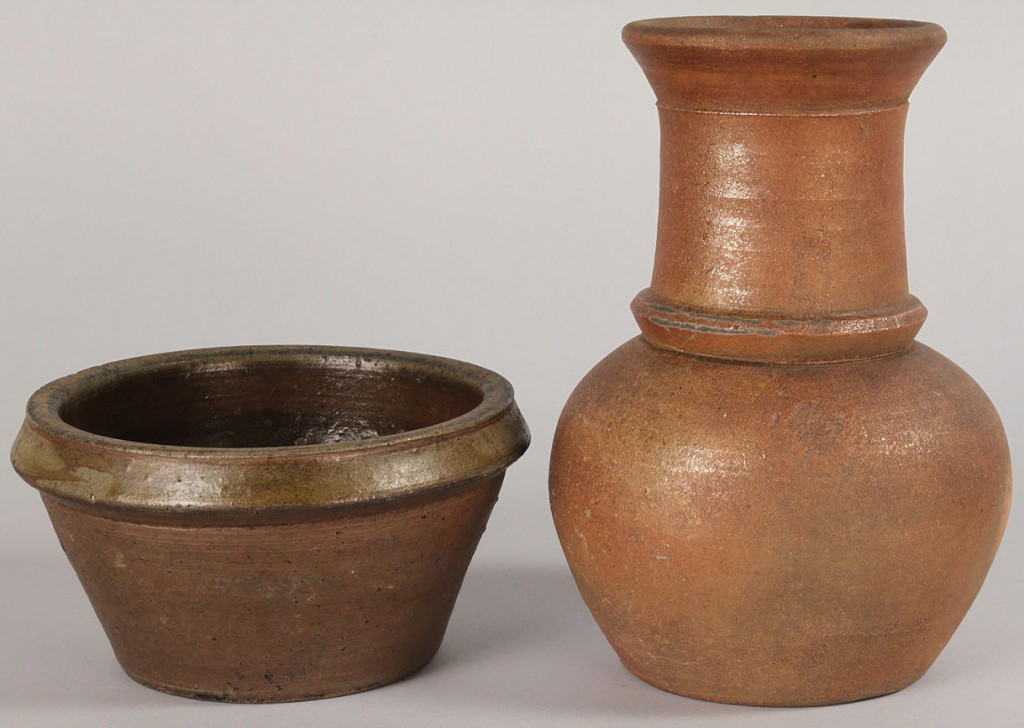 Lot 66: Lot of 2 Middle TN Pottery Items
