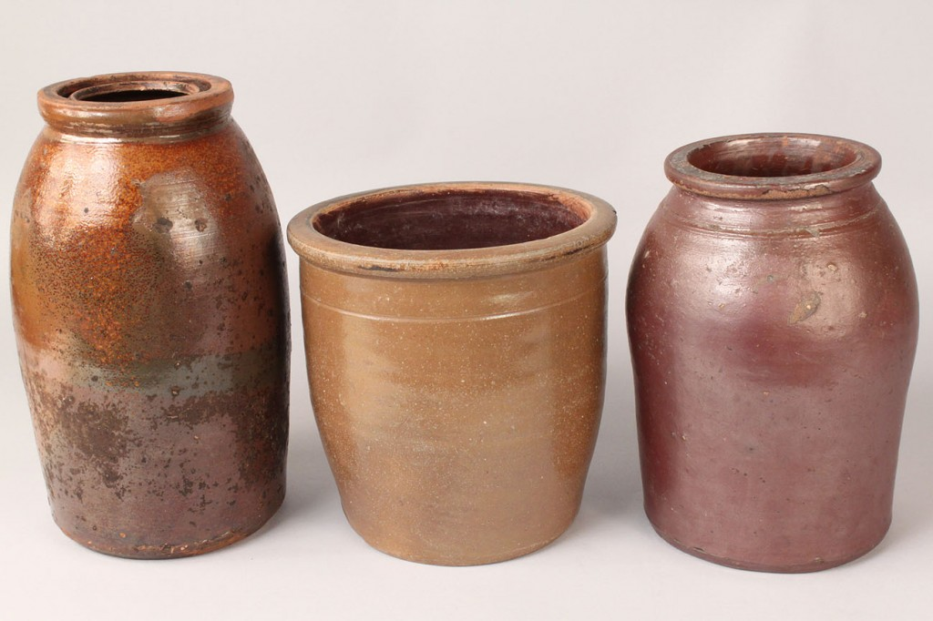Lot 693: Grouping of 7 Middle TN & American Stoneware