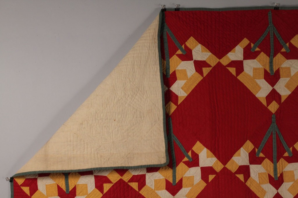 Lot 70: Southern Applique Quilt, 19th c.