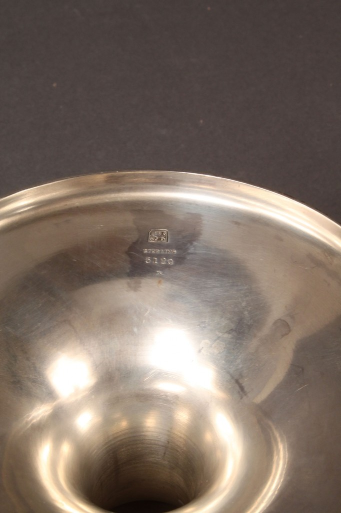 Lot 83: Three Sterling Silver Compotes