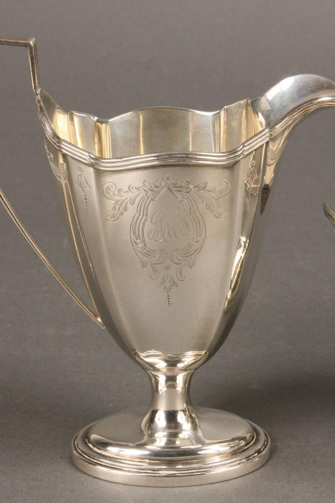 Lot 85: Gorham Sterling Silver Tea Set, 6 pcs