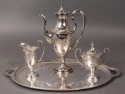 86: Kirk & Son Silver Tea or Coffee Service, 4 pcs
