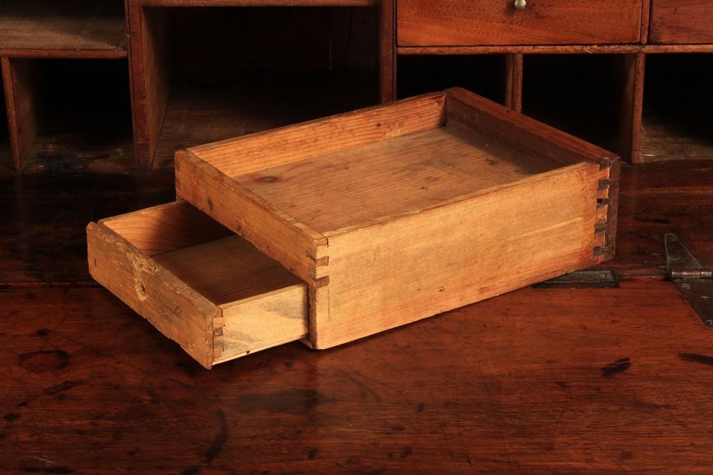 Lot 104: Carolina Walnut Bookcase Desk