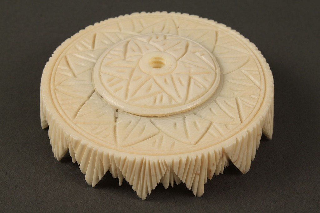 Lot 10: Chinese Carved Ivory Puzzle Ball
