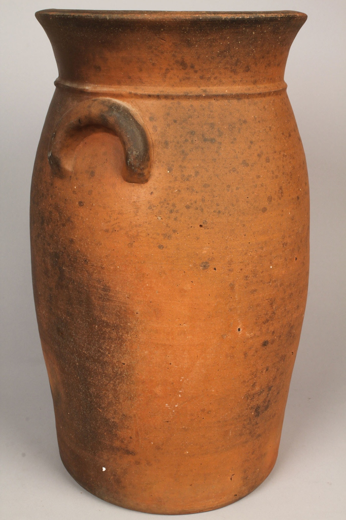 Lot 112: Knoxville, TN Weaver Bros. Pottery Jar, marked