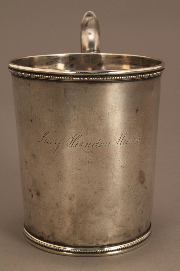 Lot 120: Memphis, Tennessee Coin Silver Cup