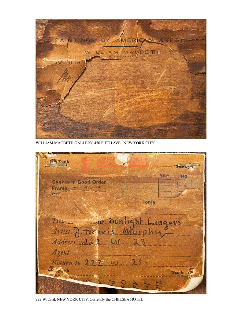 Lot 195: John Francis Murphy o/c, Tonalist Landscape