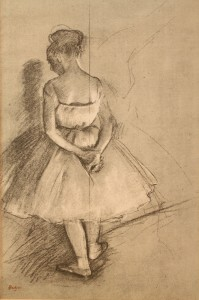 Lot 201: Edgar Degas Lithograph, Study for Rehearsal of a B