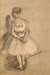 Lot 201: Edgar Degas Lithograph, Study for Rehearsal of a B