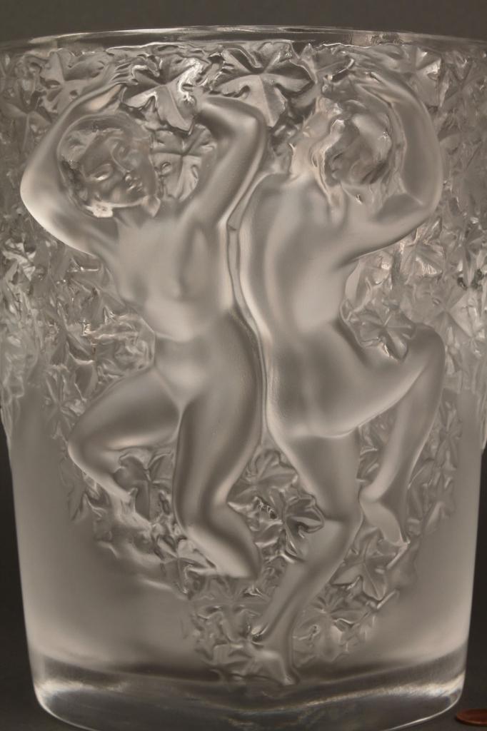 Lot 216: Lalique Ganymede Champagne Bucket