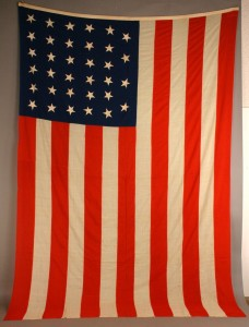 Lot 270: 34 star American flag