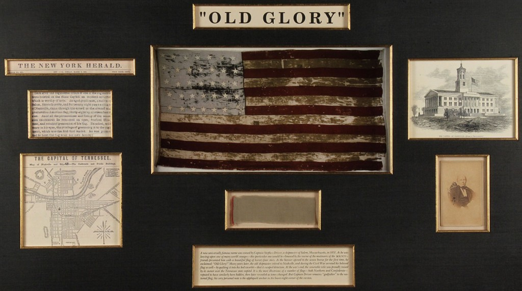 Lot 273: Old Glory Flag Archive Collage