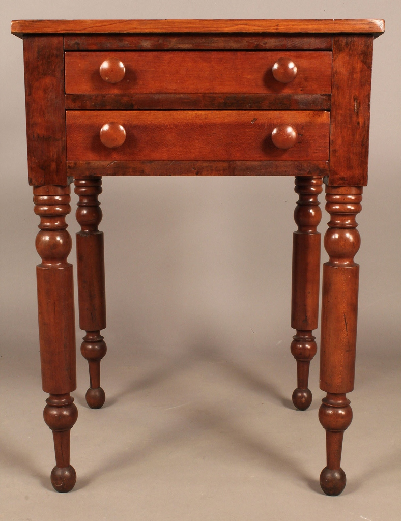 Lot 280: Middle TN Cherry 2 Drawer Stand