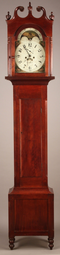 Lot 282: Southern Tall Case Clock, Robert Waite